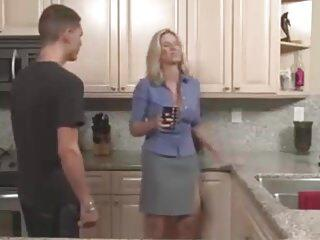 Milf in Kitchen