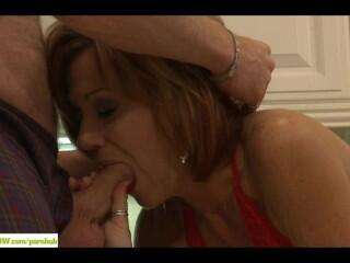 Wife Felicity Rose Fucked On Island Counter